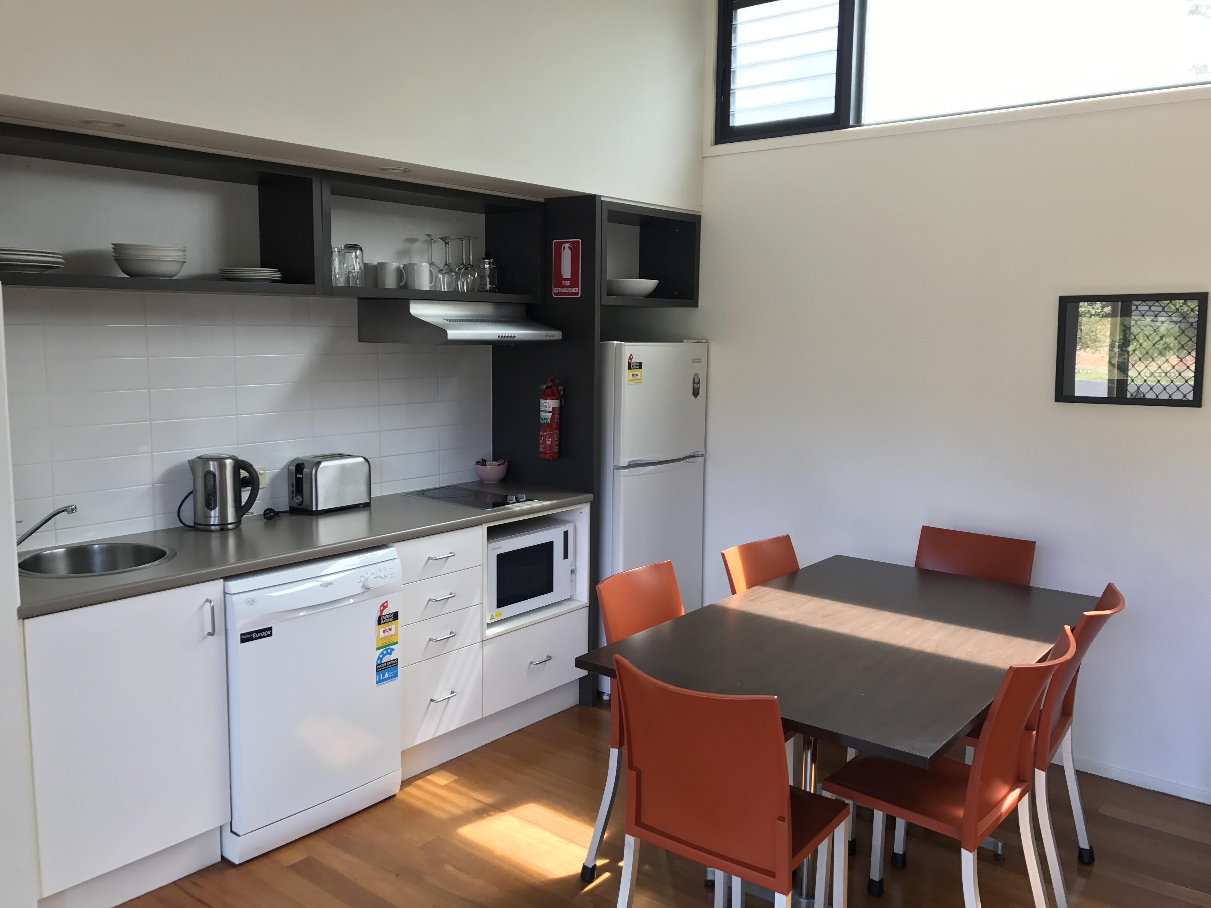 standard villa: kitchen